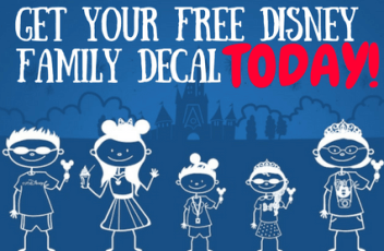 Disney Decal Header