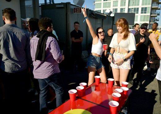 SAN DIEGO, CALIFORNIA - JULY 19: Guests at BuzzFeed Presents: A Batsh!t Crazy Bash With The CW's Batwoman at San Diego Marriott Gaslamp Quarter on July 19, 2019 in San Diego, California. (Photo by Matt Winkelmeyer/Getty Images for BuzzFeed and The CW)