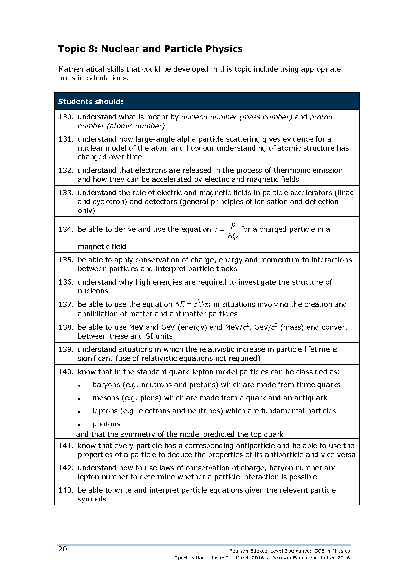 Physics Equation Sheet A Level Ocr