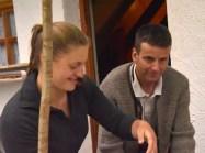 Judith mit Alpmeister Siegfried