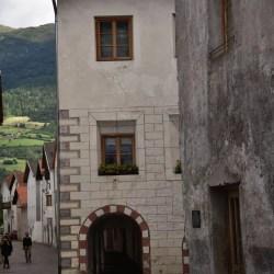 Stadthaus mit Laubengang