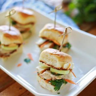 AmazingGrilled Chicken Bánh mì Sliders by Flirting with Flavor