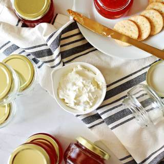 Delicious Red Pepper Jelly by Flirting with Flavor