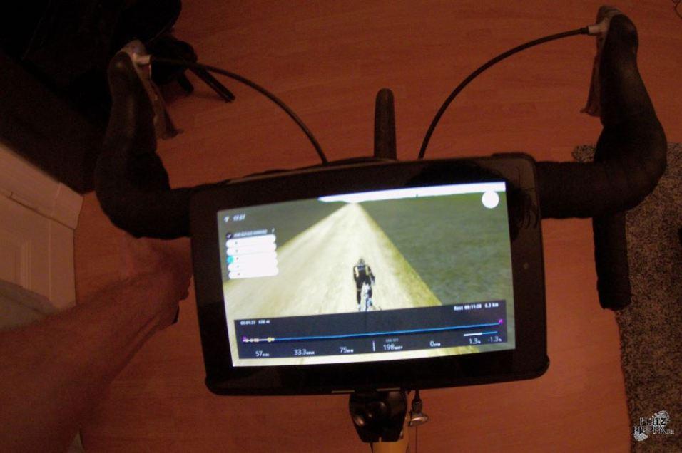 Zeitfahren mit TT in der Steppe geht auch nur auf dem Simulator ;-)