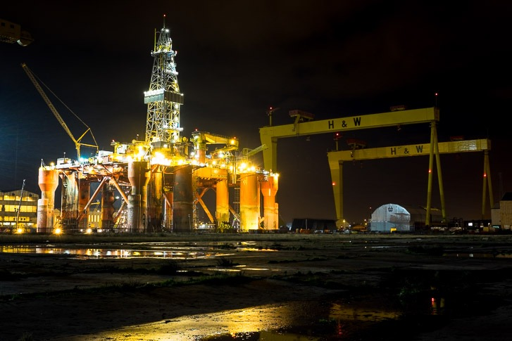 Blackford Dolphin, Harland and Wolff