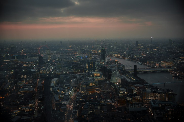 London with the X100T