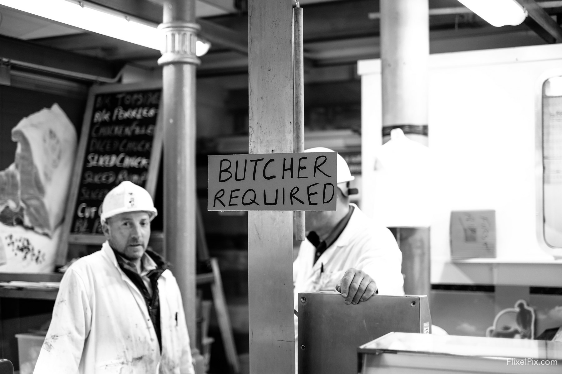Butcher Required