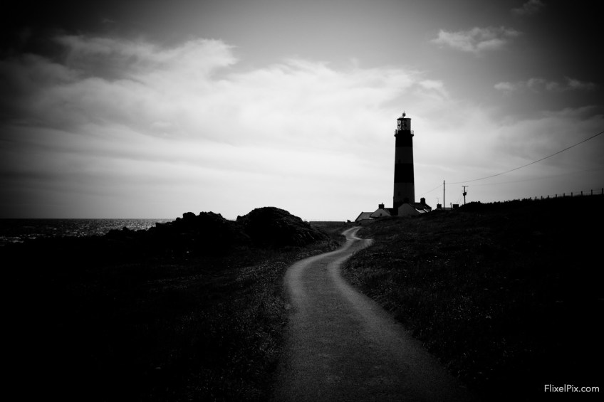 The road to the lighthouse