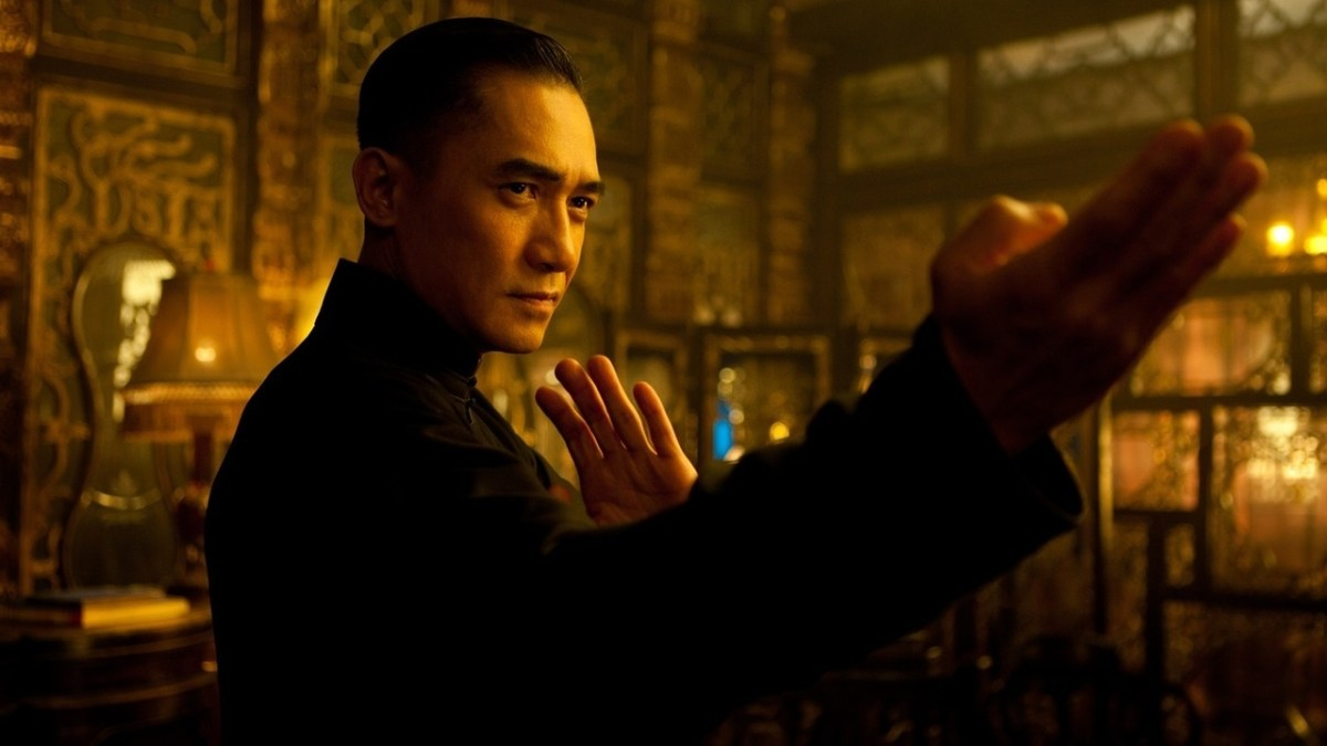 Tony Leung as Ip Man in Wong Kar Wai's The Grandmaster