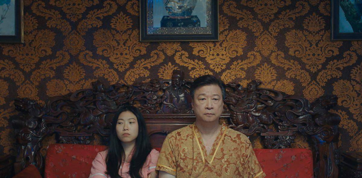 Awkwafina and Tzi Ma in Lulu Wang's The Farewell