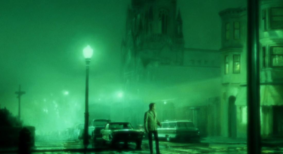 Guy Maddin, Evan Johnson, and Galen Johnson's Vertigo homage The Green Fog (2017)