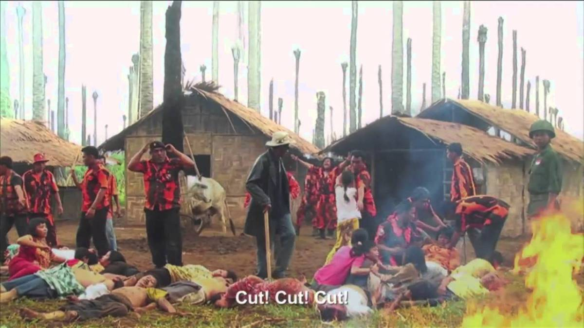 The movie within a movie in Joshua Oppenheimer's The Act of Killing