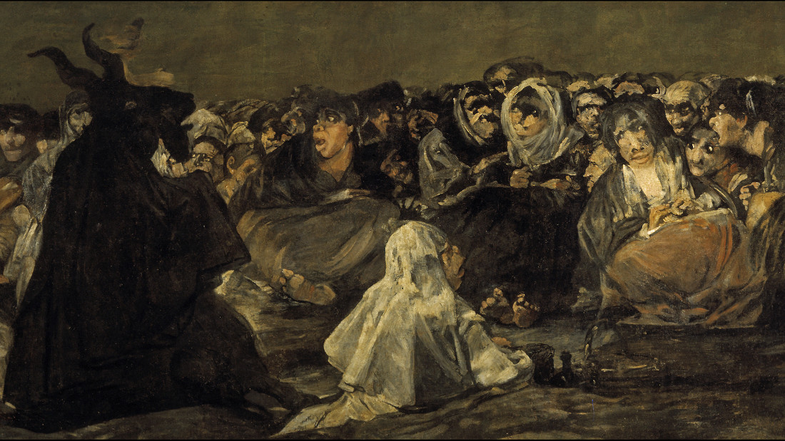 Witches' Sabbath (The Great He-Goat) by Francisco Goya