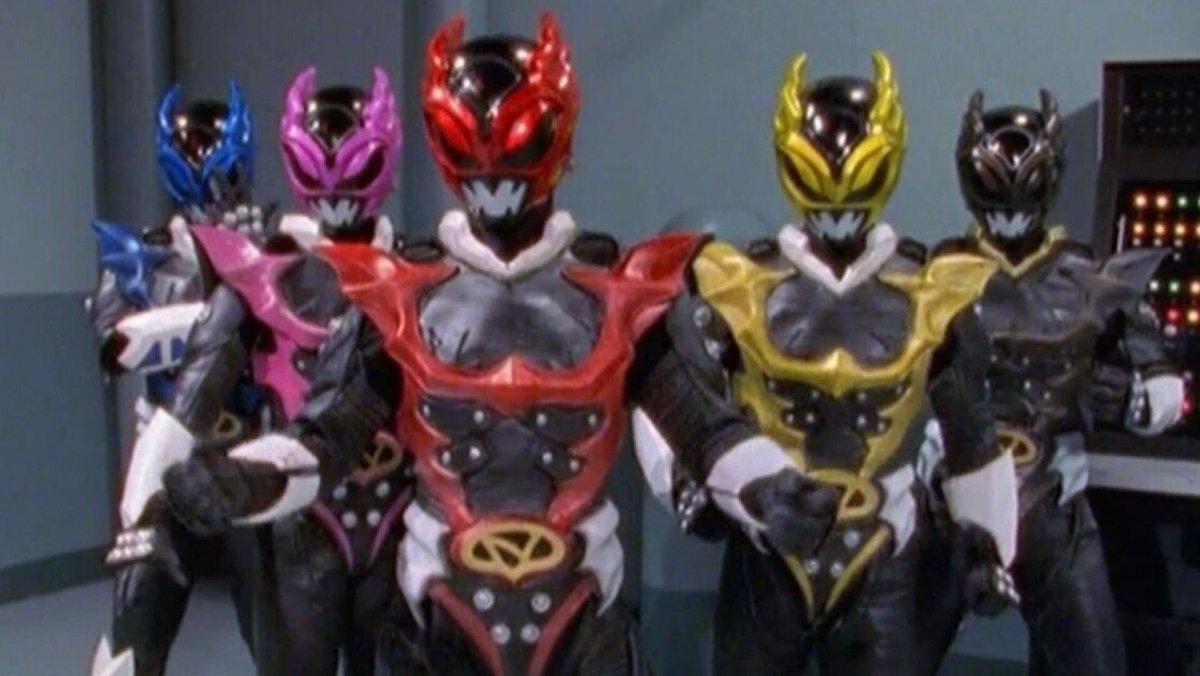 Power Rangers Villains 1