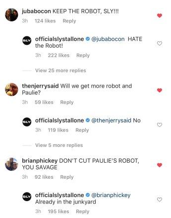 Rocky IV Robot