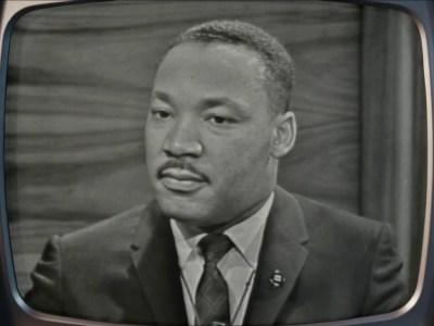 Dr. Martin Luther King, Jr. in Sam Pollard's documentary MLK/FBI