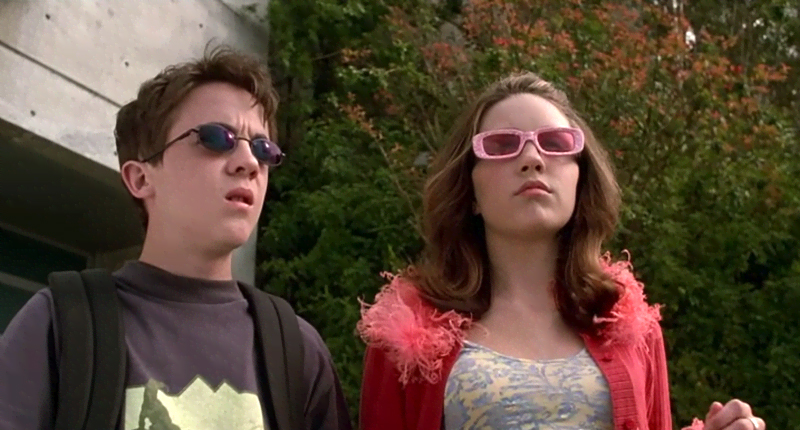 Jason and Kaylee in Big Fat Liar