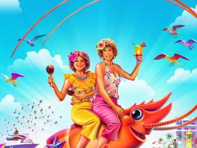 Barb and Start Go to Vista Del Mar Review header