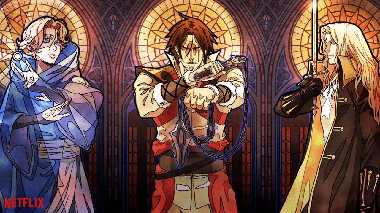 Castlevania is good but not great