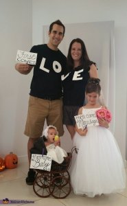 family first comes love halloween costume