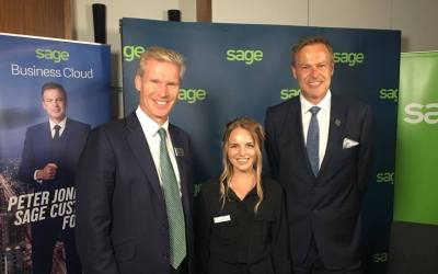 Peter Jones & Sage Name Float Digital as the UK's Most Ambitious Business