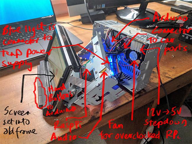 DIY In-Car Screen: Extending Raspberry Pi Wifi Antenna