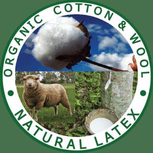 Organic Cotton, Organic Wool, Natural Latex