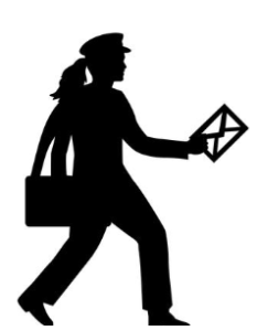 US Mail-Woman