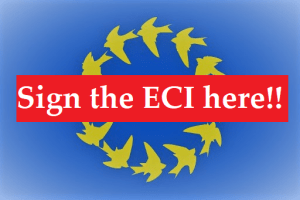 sign signing ECI button