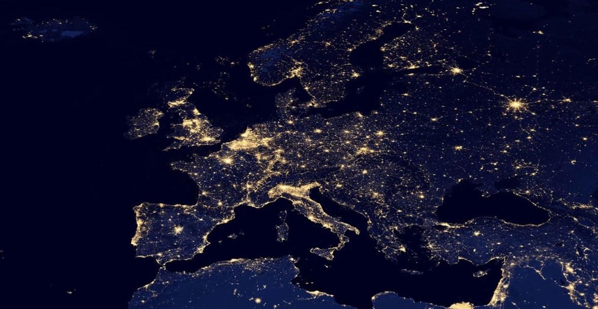 Initiative/Iniciativa logo: Europe At Night