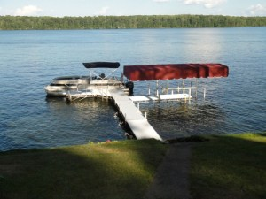 Floe Dock Lift_Chippewa Flowage, WI