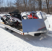 Ramp Salt Shield Combo Trailer Accessory