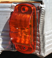 LED lights on the VersMax trailer.