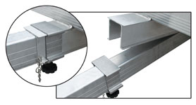 Fast Action Clip for VersaMax Tile trailers.