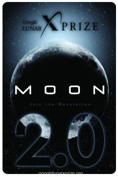 Google Lunar X Prize poster