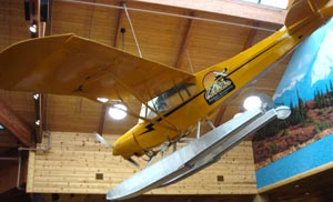 Seaplane in Cabelas store