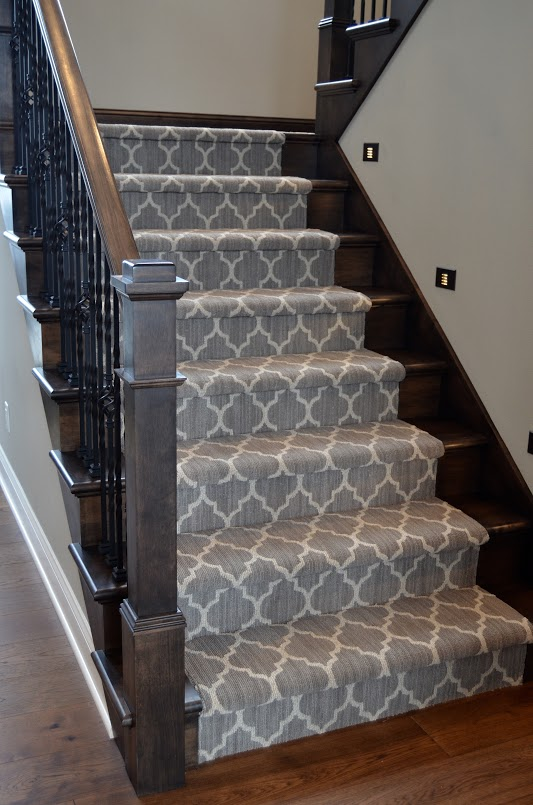 Attractive Gorgeous Patterned Stair Runner