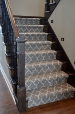 Gorgeous Patterned Stair Runner
