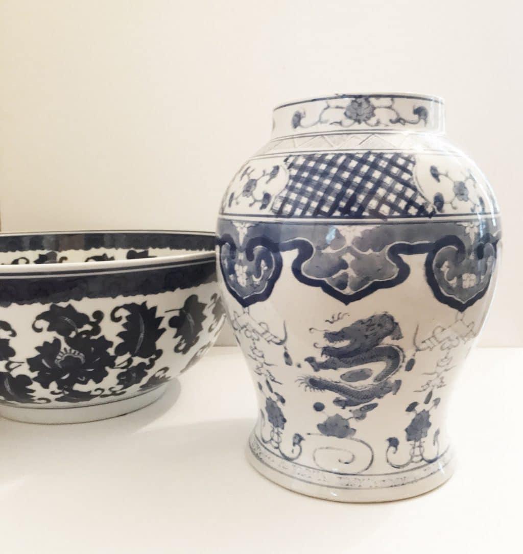 Decorative items from Alexandra Wood