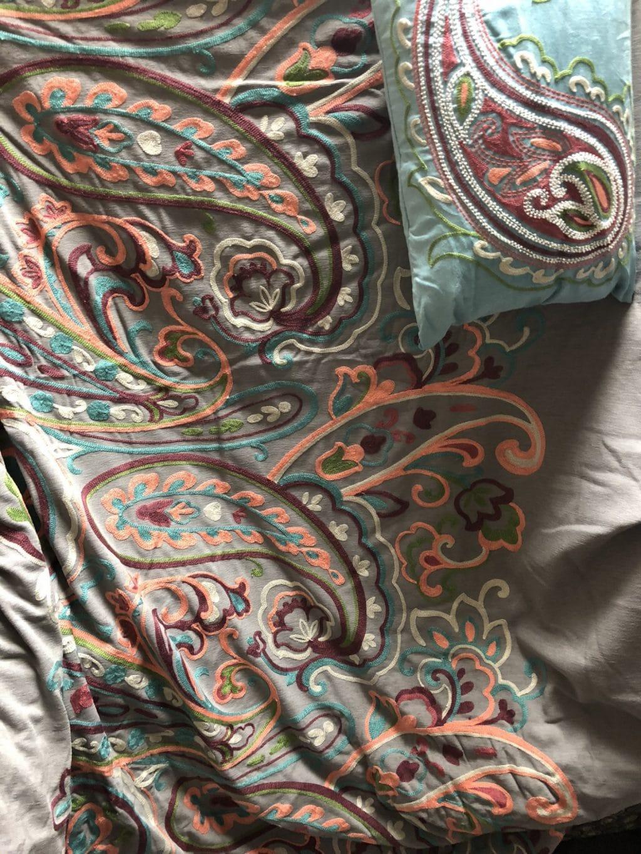 Queen comforter and duvet set from FLOOR360