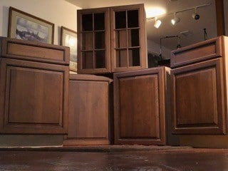 Cabinets donated by Cathy Driftmier