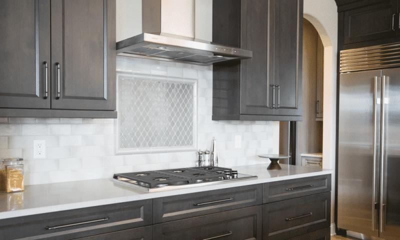 kitchen backsplash gray