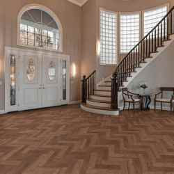 patterned lvt
