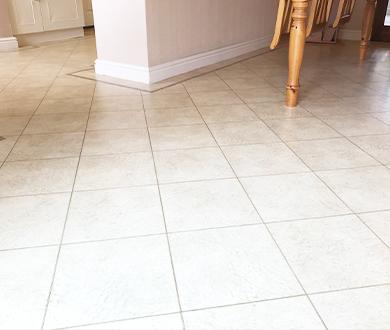 vinyl floor cleaning results