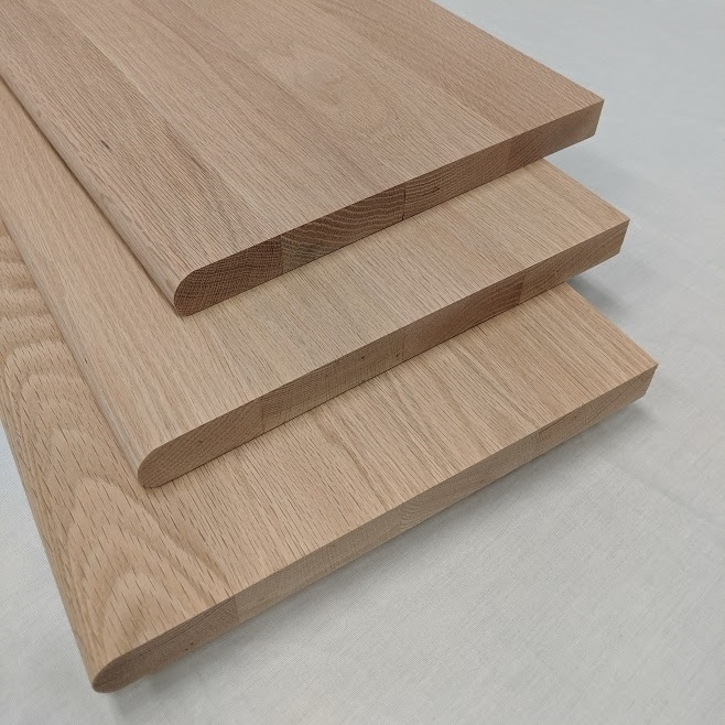 Red Oak Stair Treads Available Unfinished And Prefinished | Unfinished Oak Stair Treads