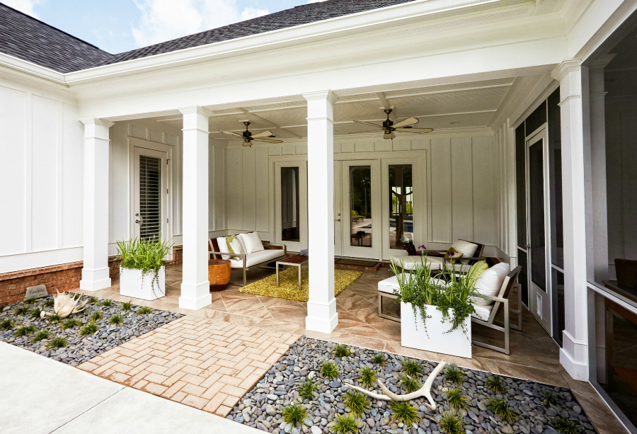 8 outdoor flooring options for style comfort for Lanai flooring options