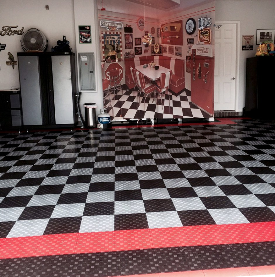 Harley color carpet tiles - There Are Plenty Of Decades To Choose From For The Vintage Look However I Feel Like Everyone Has A Very Clear Image In Their Minds Of The Classic 1950s