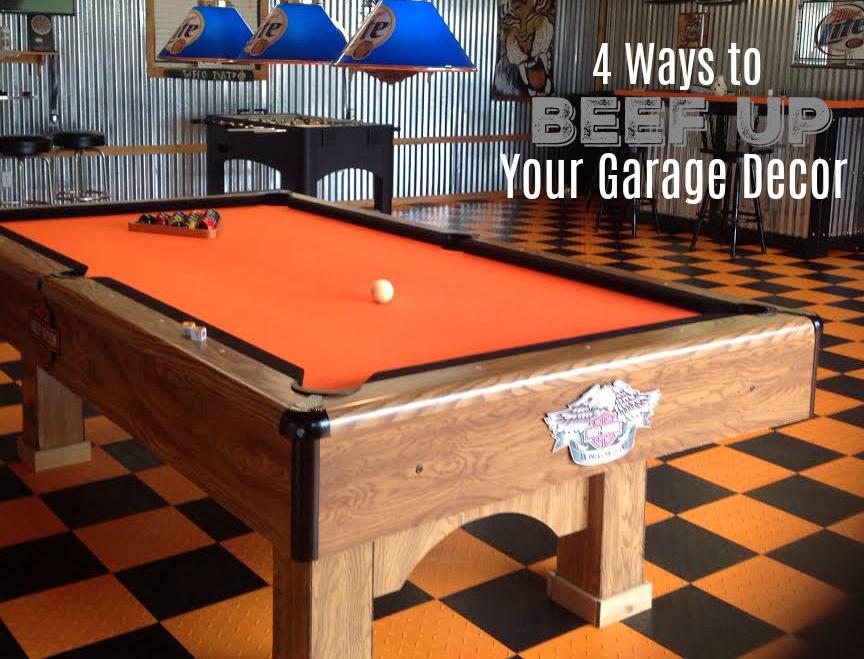 4 Ways to Beef Up Your Garage Decor - Flooring Inc on Garage Decoration  id=97369