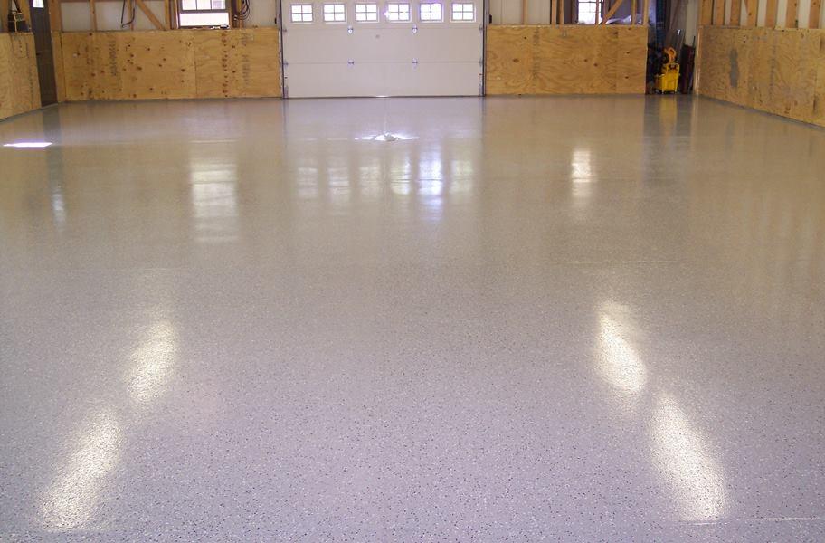 polyaspartic vs epoxy garage floor