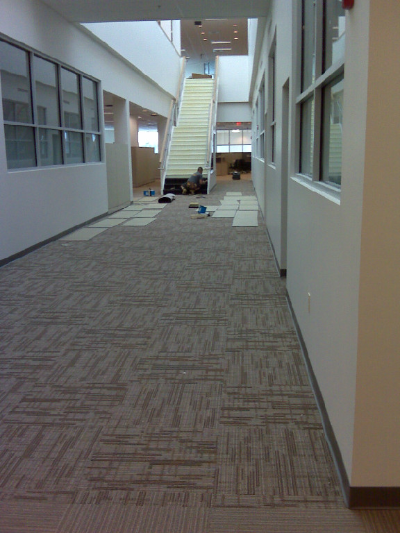 Commercial Carpet Tiles Stair Tread New Jersey1